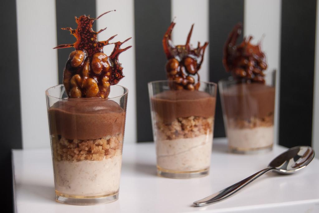 spesso Bicchierini banana e cioccolato | CaprettaRossa AW65