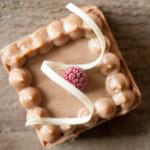Crostata al cioccolato e frutto della passione