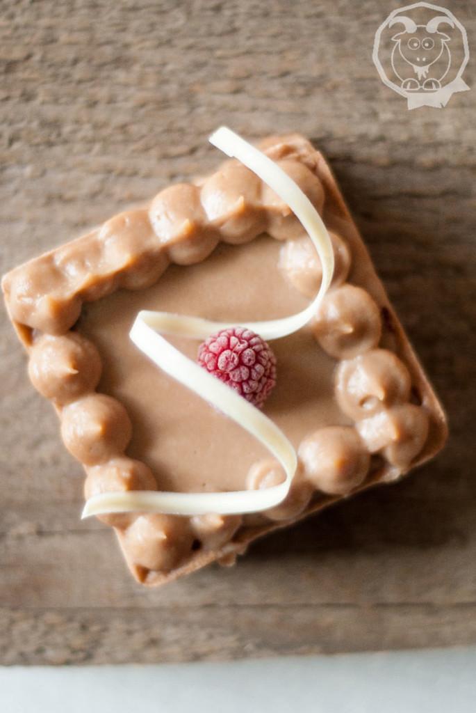 Crostata Cioccolato e frutto della passione