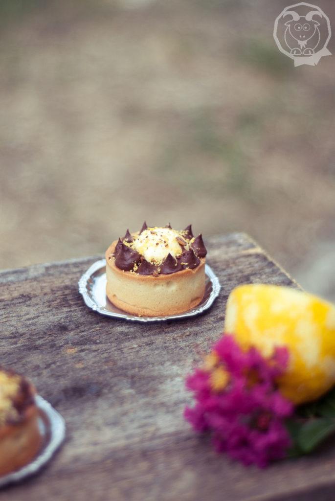 Crostata cioccolato e limone