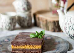 torta cioccolato basilico e carote