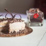 Torta Nerose con confettura di fragoline ai fiori di zagara